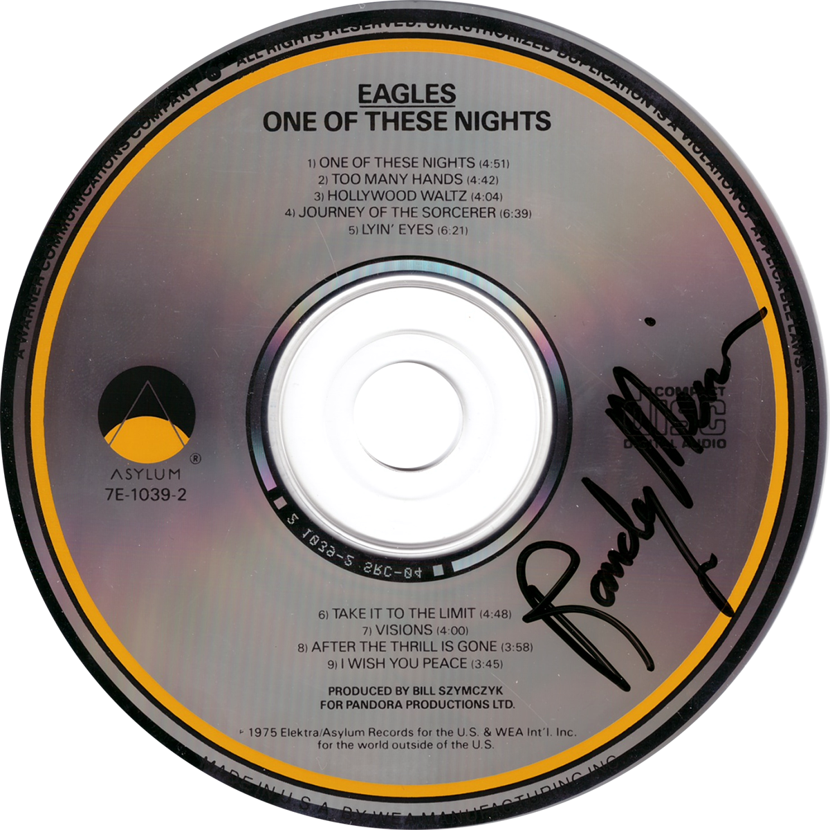 Randy Meisner CD - One of These Nights #2