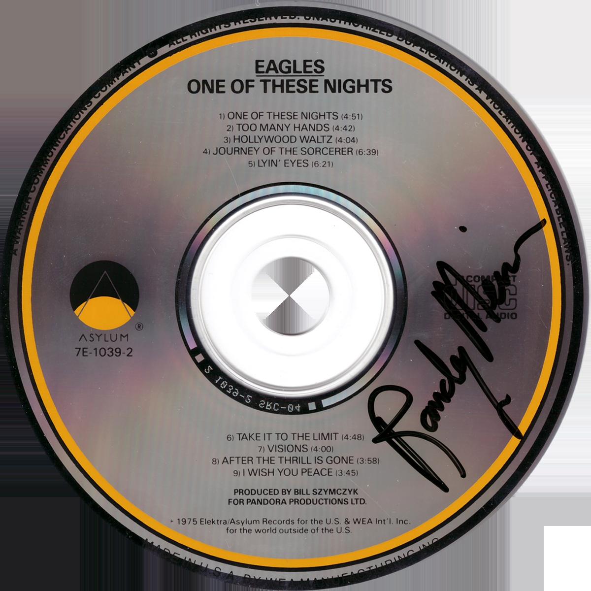 Randy Meisner CD - One of These Nights #2