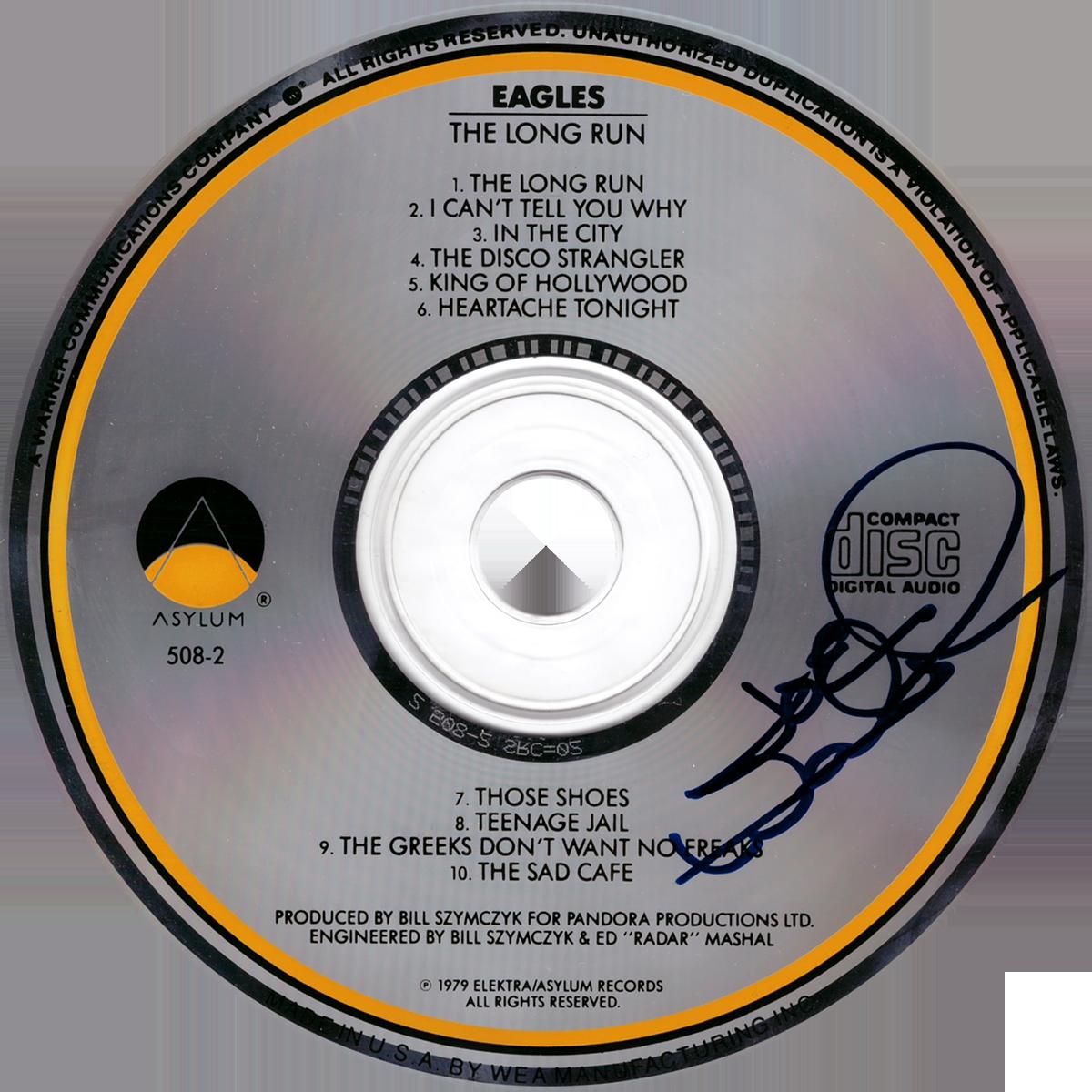 Joe Walsh CD - The Long Run