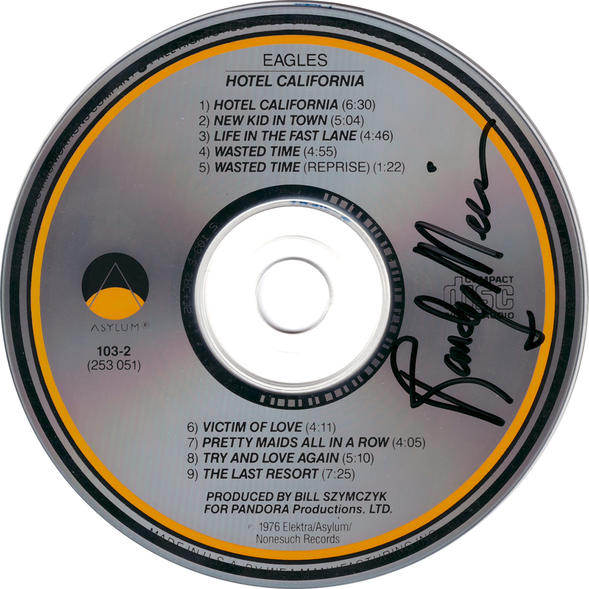 Randy Meisner CD - Hotel California