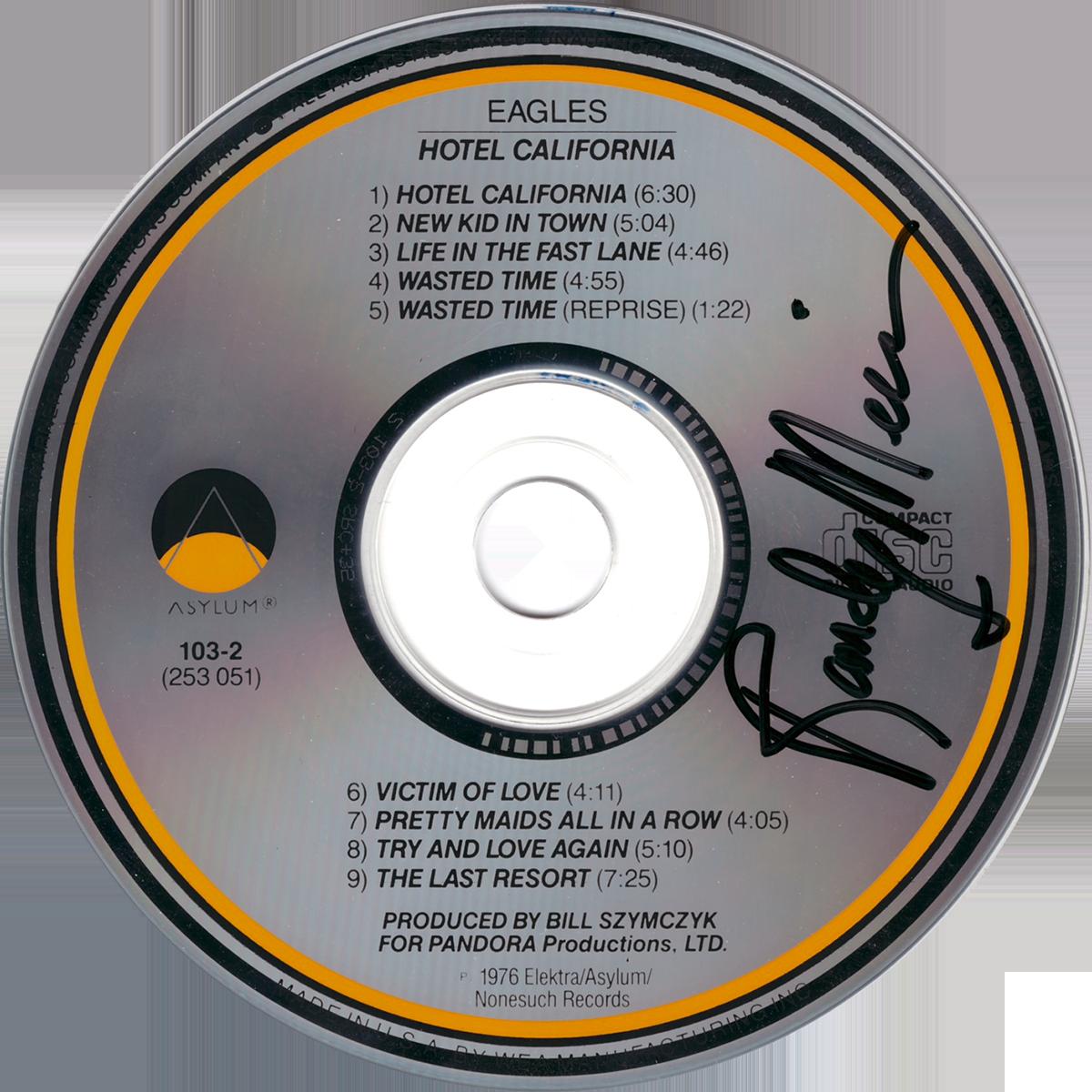 Randy Meisner CD - Hotel California