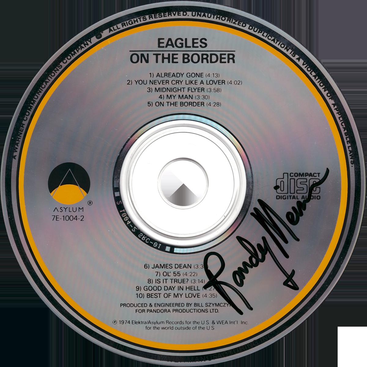 Randy Meisner CD - On The Border