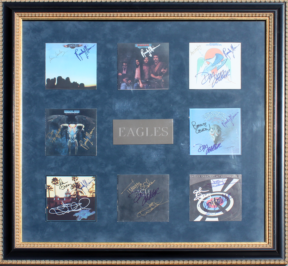 Eagles - 8 CDs Framed
