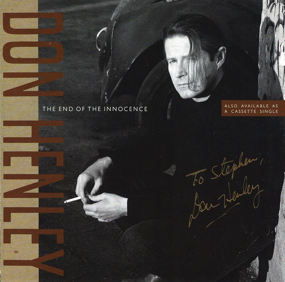 Don Henley 45rpm Sleeve - The End of the Innocence