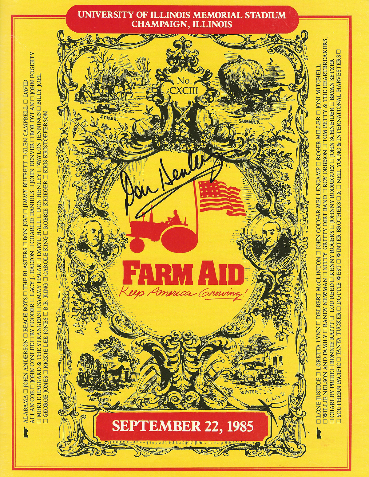 Don Henley - Farm Aid #2