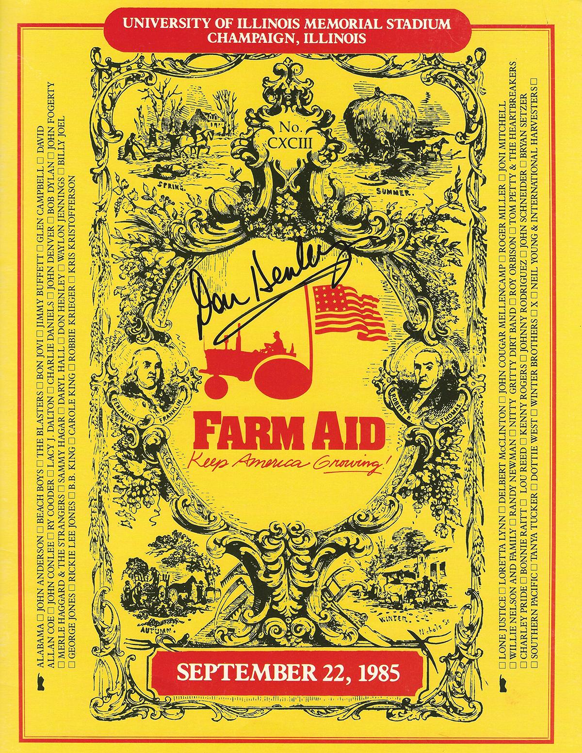Don Henley - Farm Aid #2