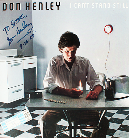 Don Henley Poster - I Can't Stand Still