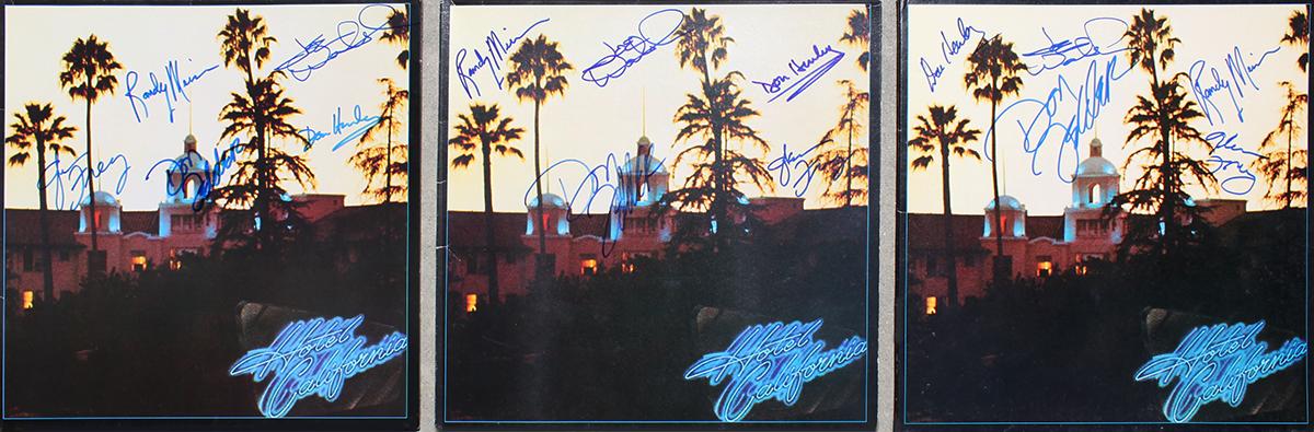 Eagles LPs (3) - Hotel California