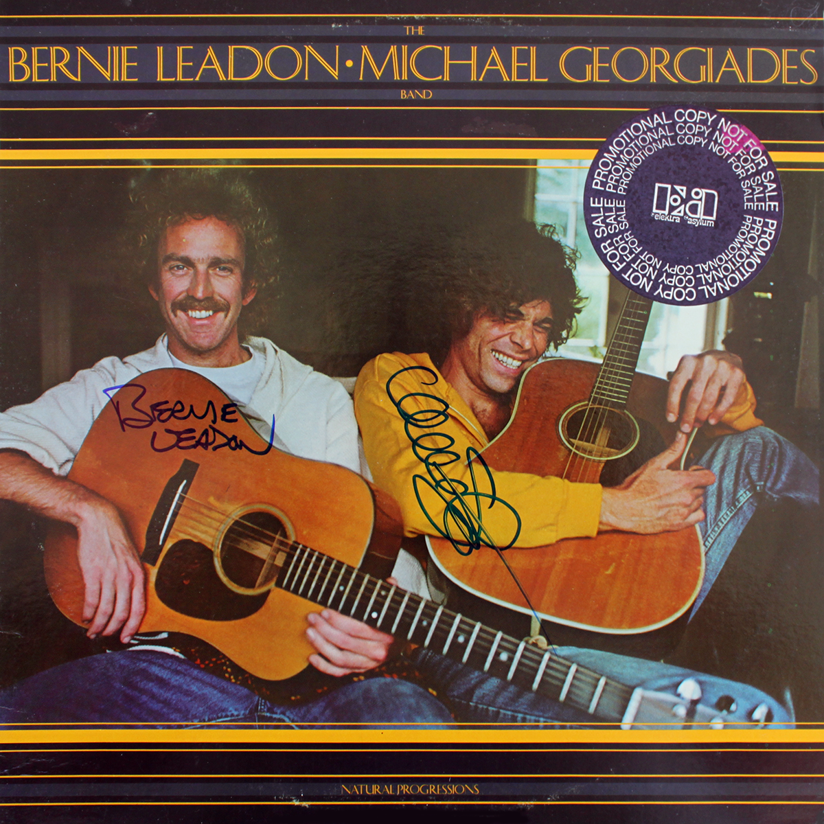 Bernie Leadon & Michael Georgiades Band LP - Natural Progressions