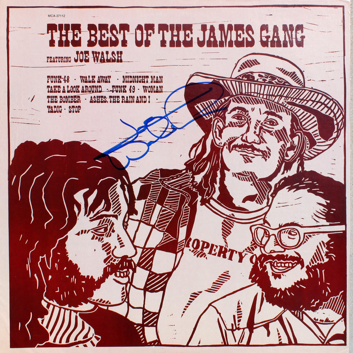 Joe Walsh LP - Best of The James Gang