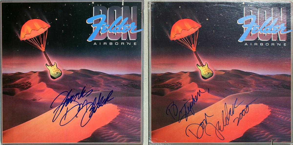 Don Felder LPs (2) - Airborne