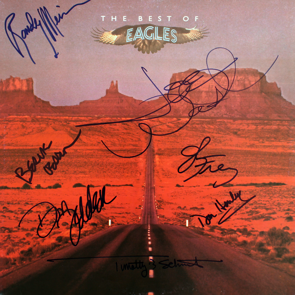 Eagles LP - Best of Eagles (European)
