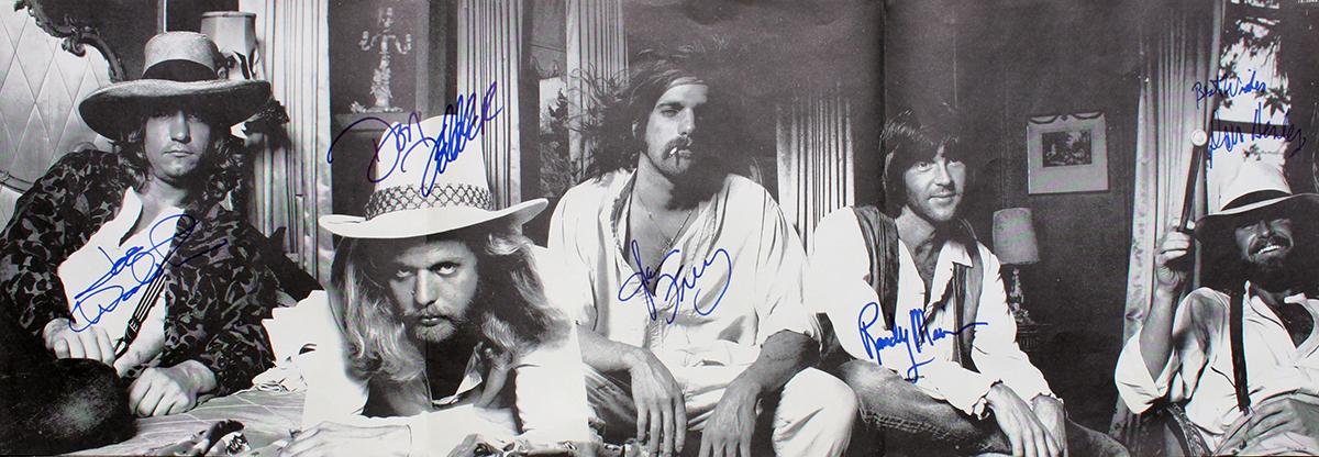 Eagles - Hotel California Inner sleeve