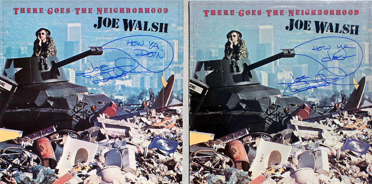 Joe Walsh LPs (2) - There Goes The Neighborhood
