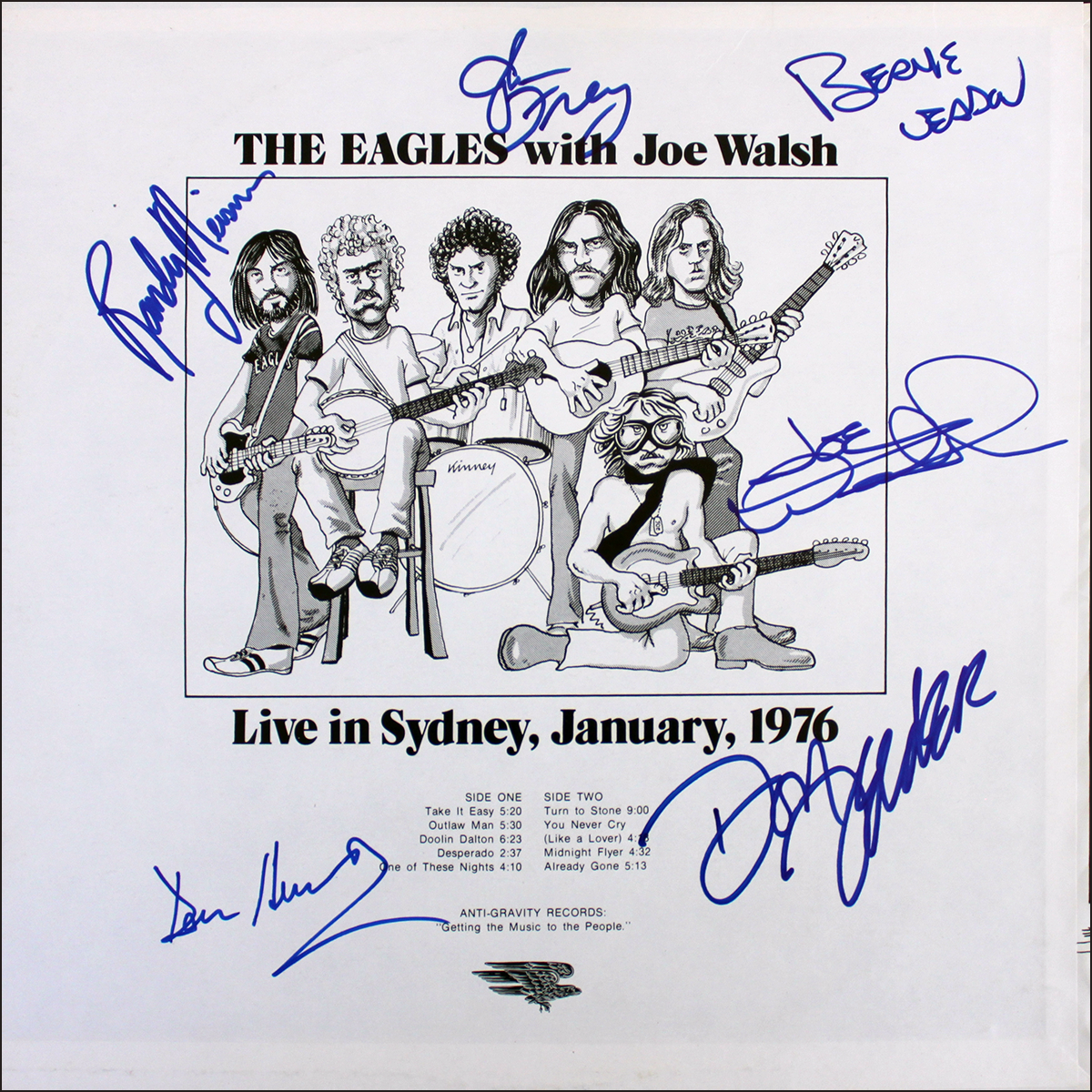 Eagles LP - Live in Sydney