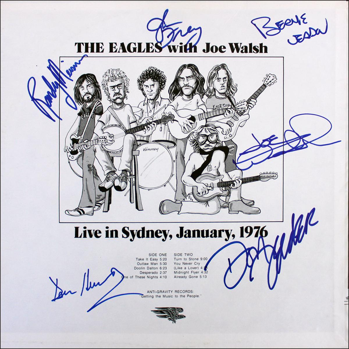 Eagles LP - Live in Sydney