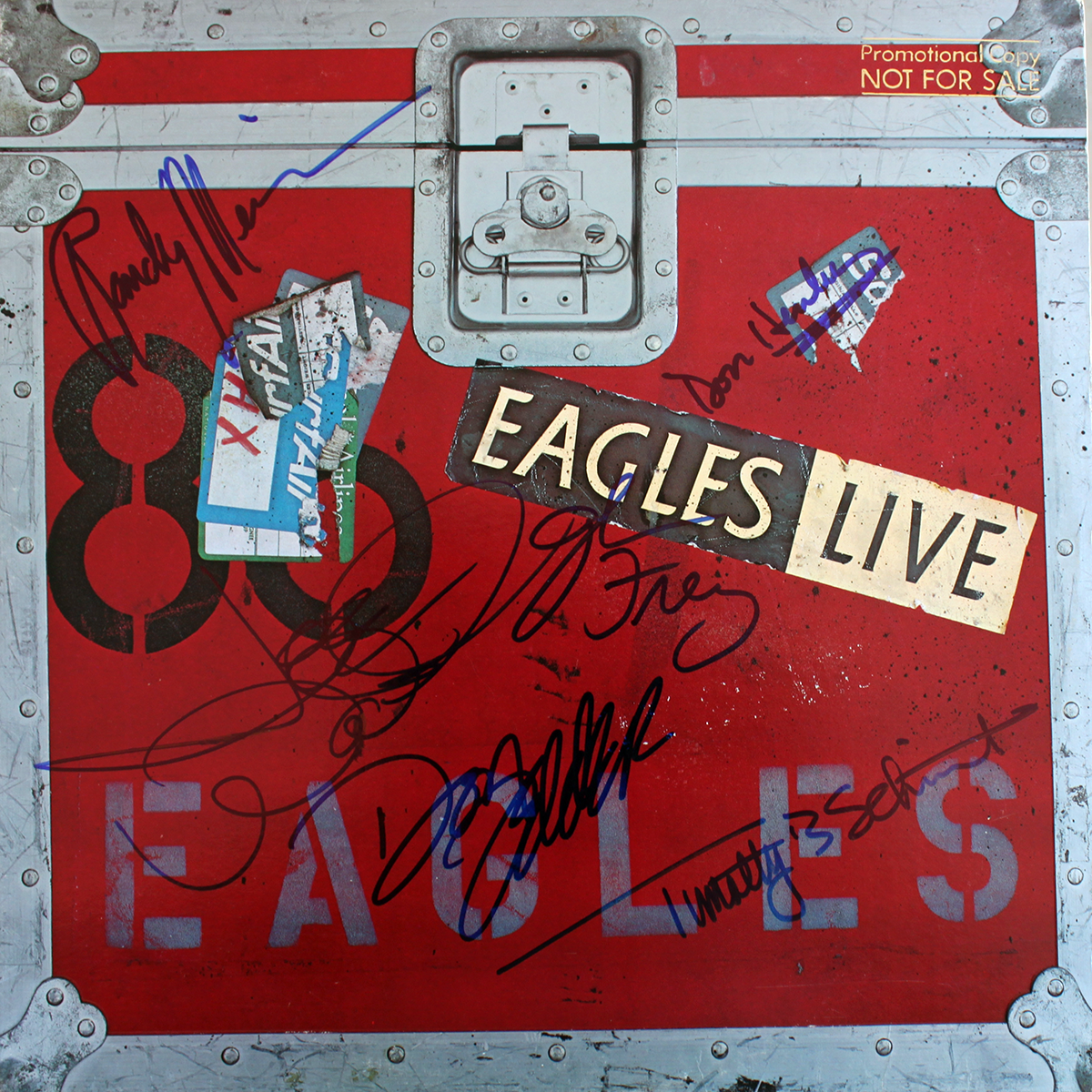 Eagles LP - Eagles Live #1