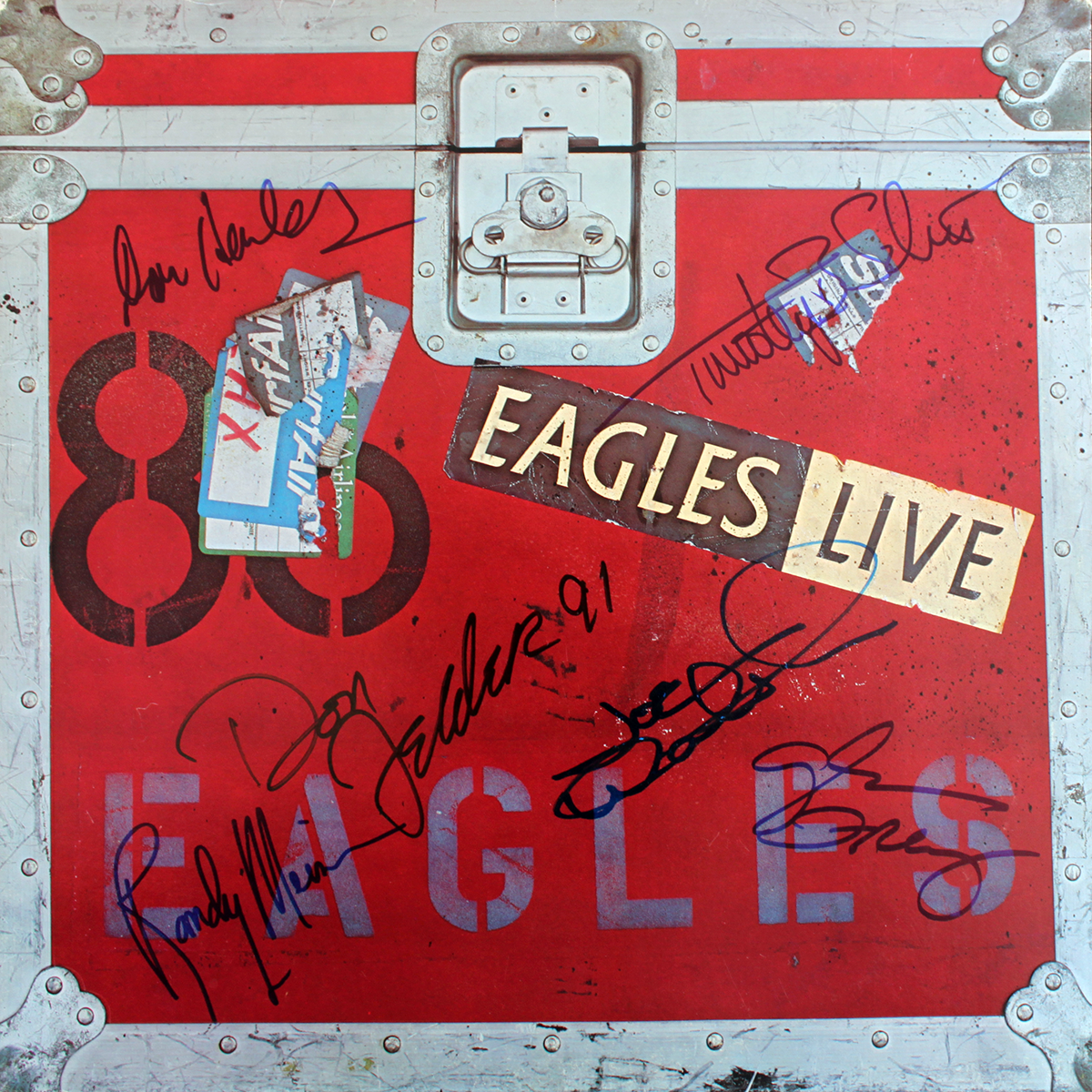 Eagles LP - Eagles Live #2