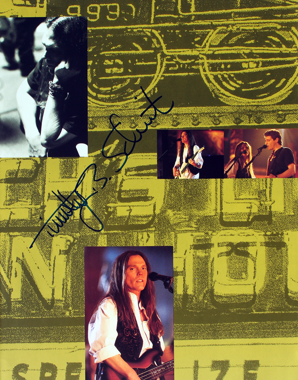 Timothy B Schmit - Hell Freezes Over Tour Book