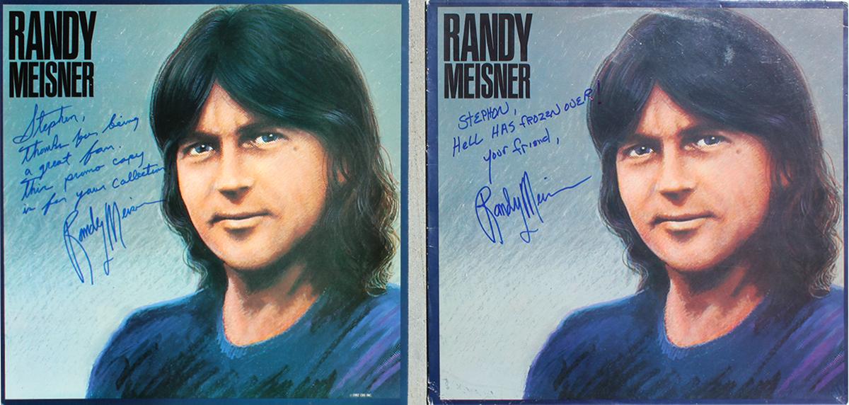 Randy Meisner LPs (2)