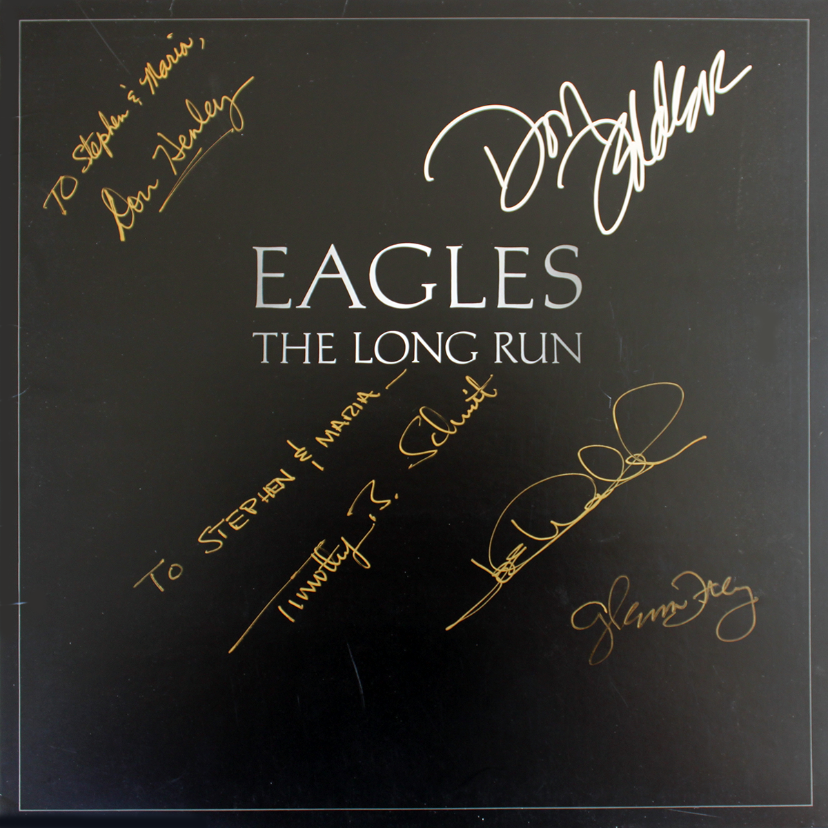 Eagles LP - The Long Run #2