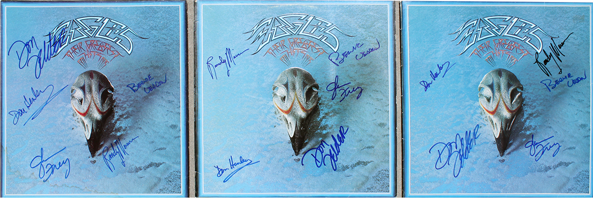 Eagles LPs (3) - Their Greatest Hits