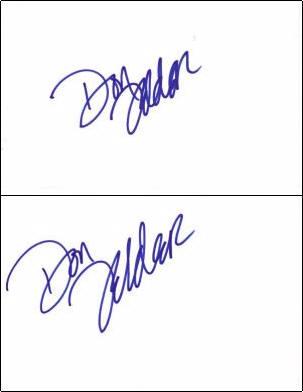 Don Felder - Index Card #1