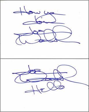 Joe Walsh - Index Card #1