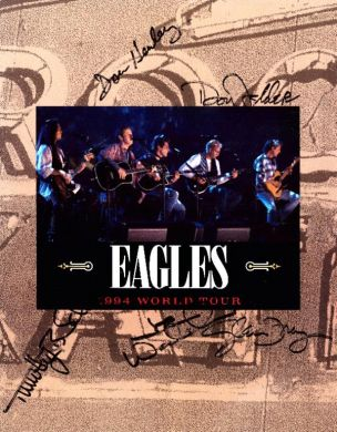 Eagles - Hell Freezes Over Tour Book #1