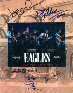 Eagles - Hell Freezes Over Tour Book #2