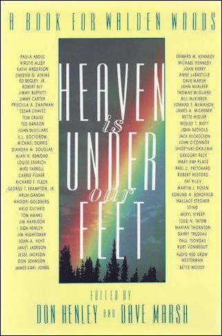 Don Henley book - Heaven is Under Our Feet - outside
