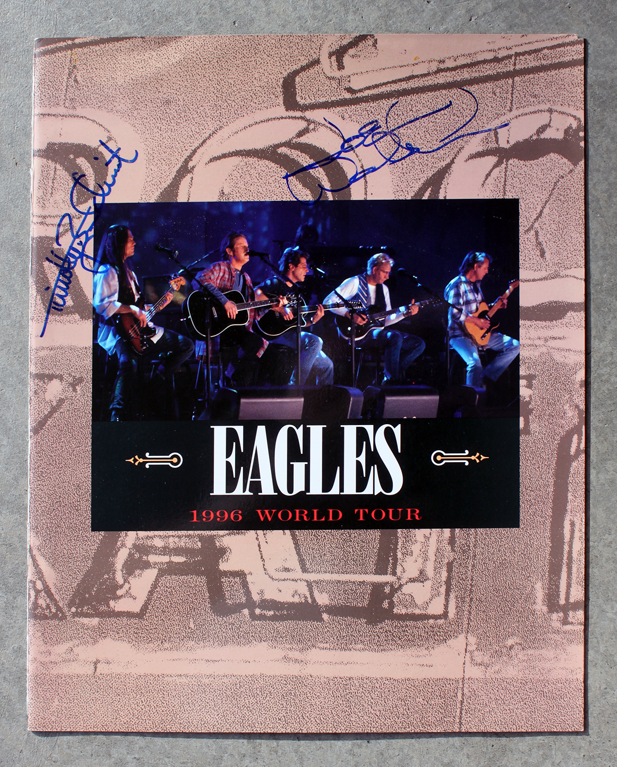 Eagles Tour Book - 1996 World Tour
