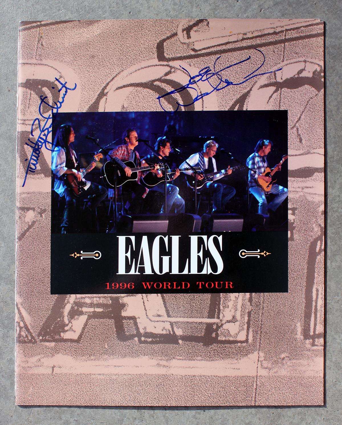 Eagles Tour Book - 1996 World Tour