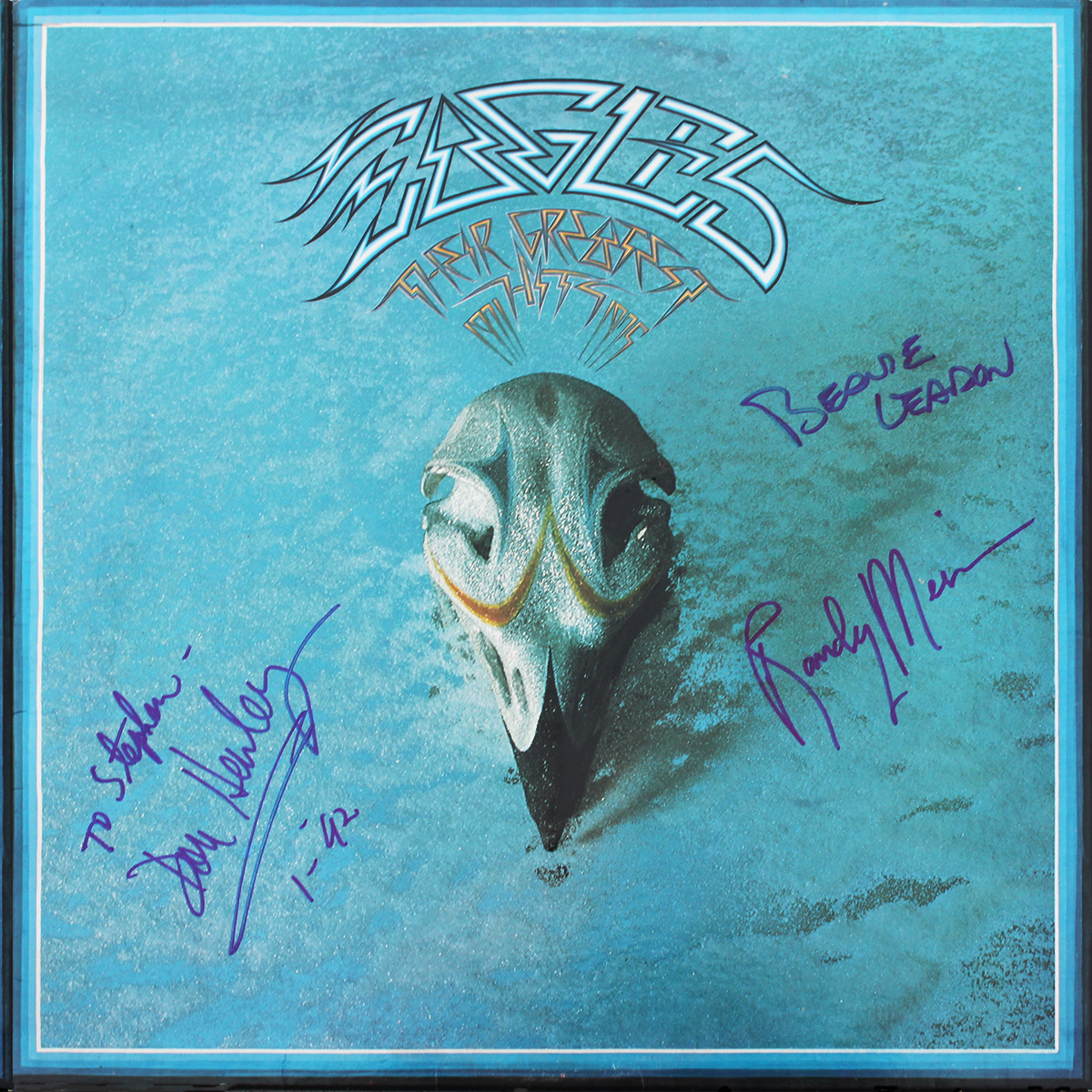 Eagles Greatest Hits LP