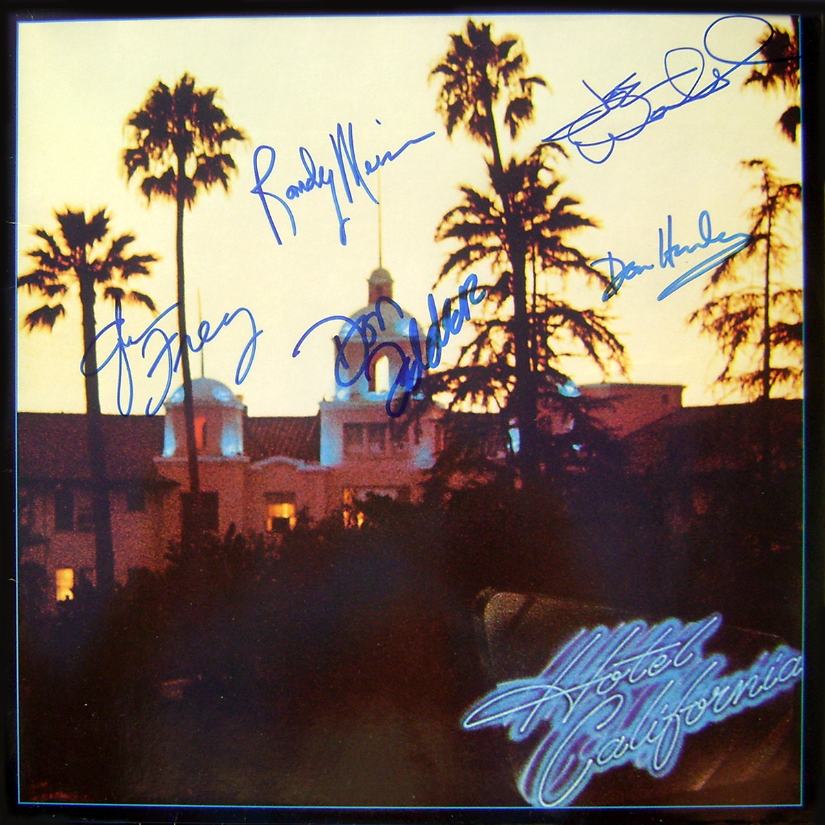 Eagles LP - Hotel California #1