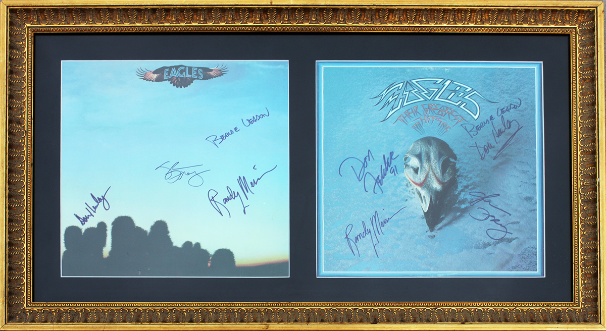 Eagles CD Sleeve - Double Framed Debut LP