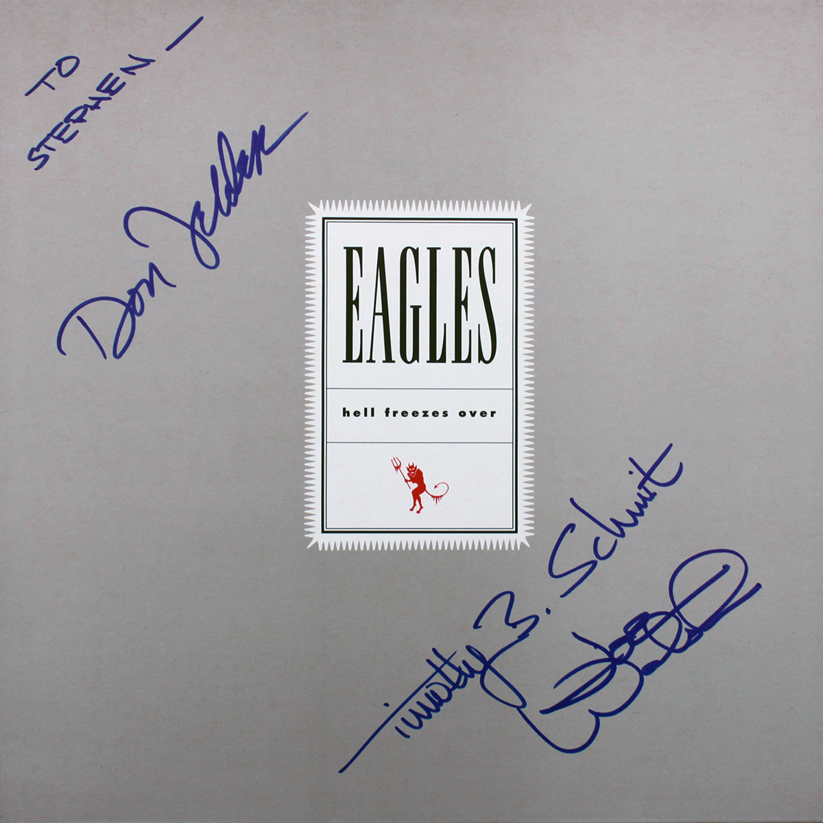 Eagles Music Book - Hell Freezes Over #3