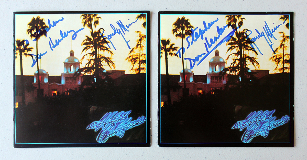Eagles Dual LPs - Hotel California