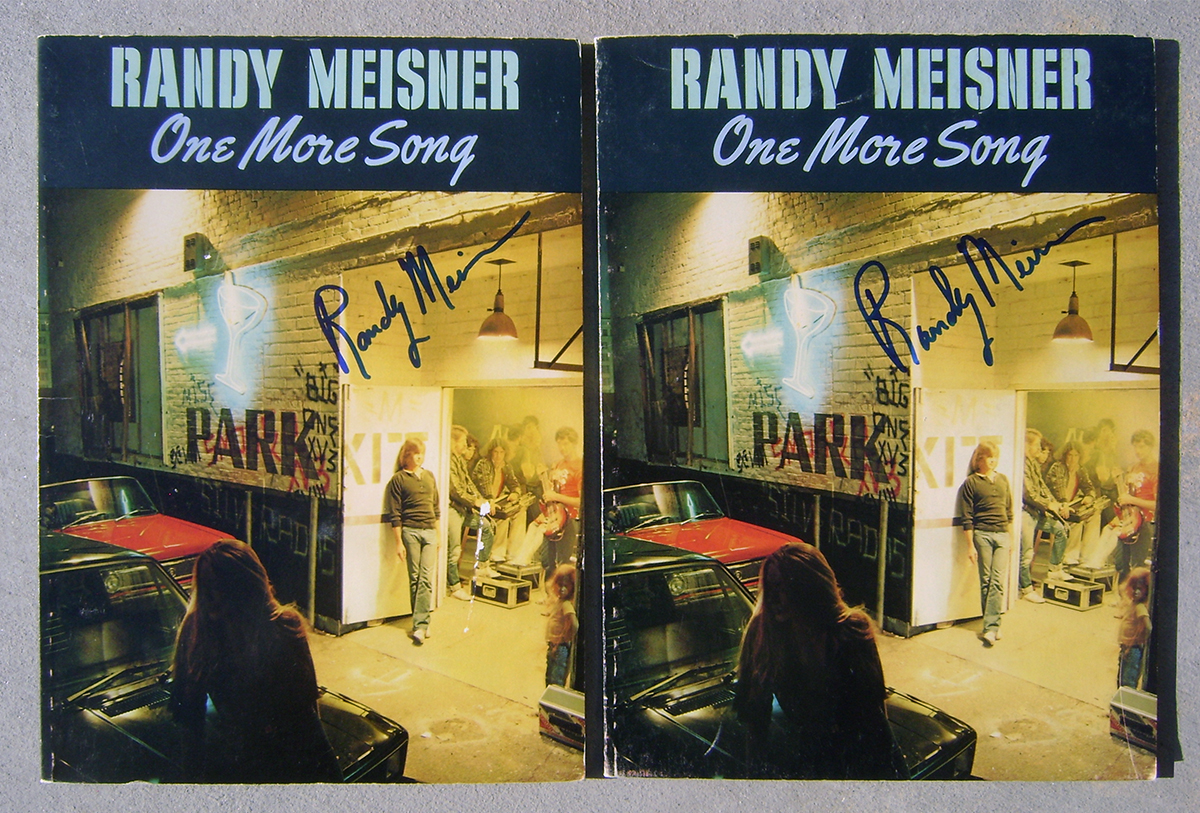 Music Books - Randy Meisner