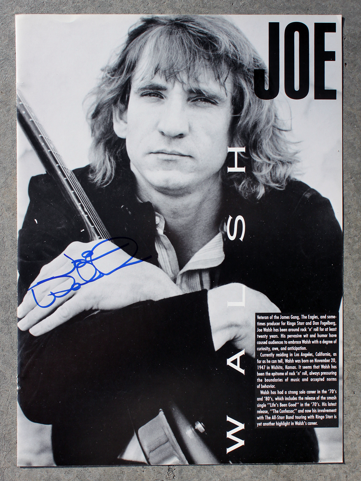 Joe Walsh photo #2