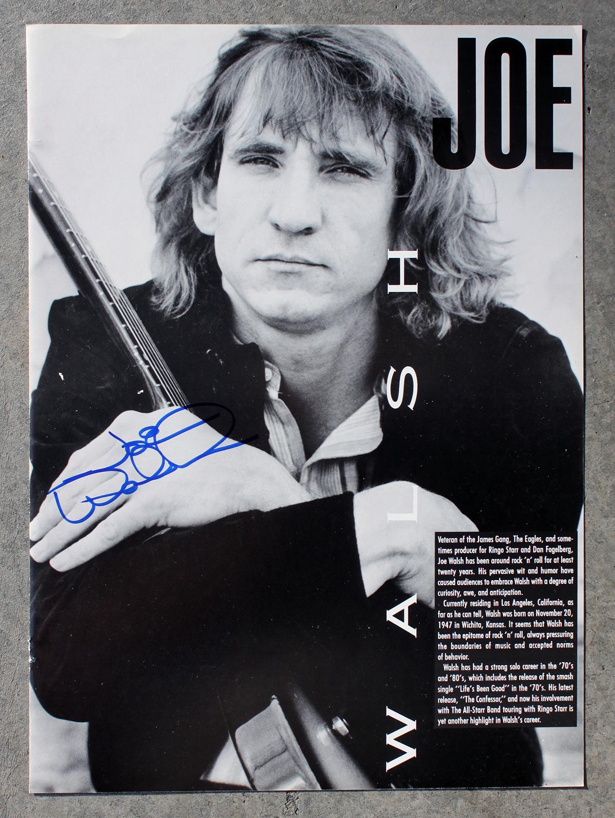 Joe Walsh photo #2