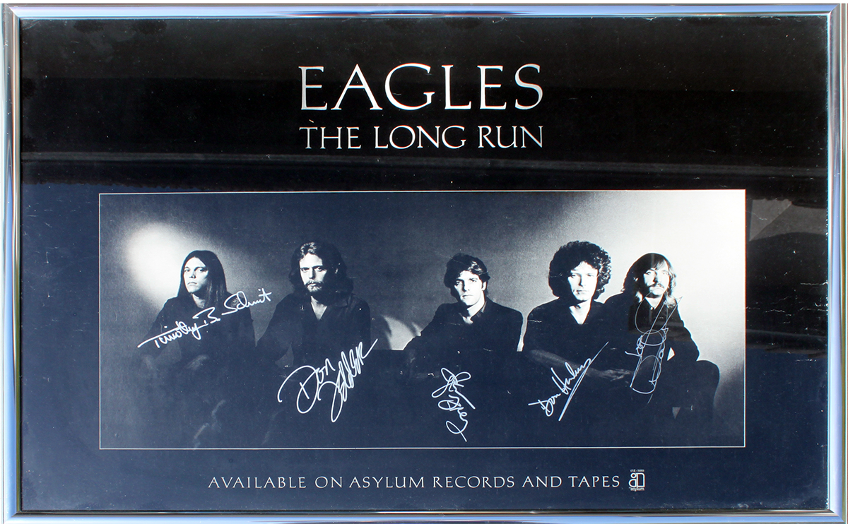 Eagles - The Long Run Framed