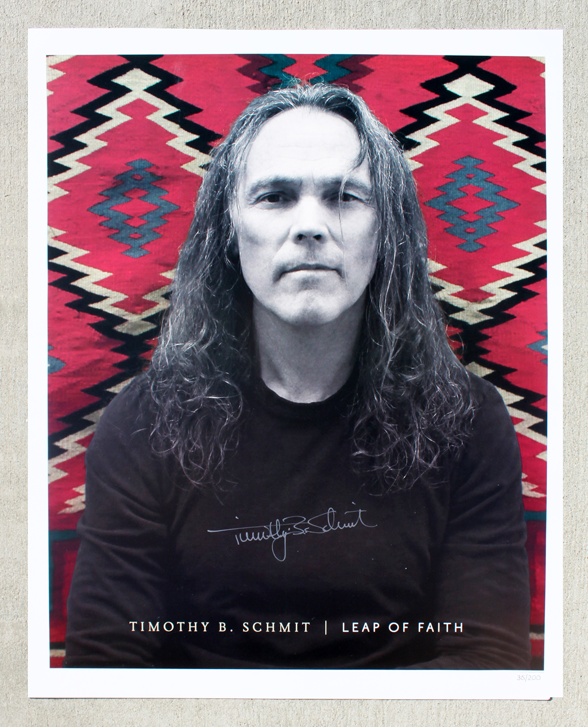 Timothy B Schmit - Tour Book - Leap of Faith #1