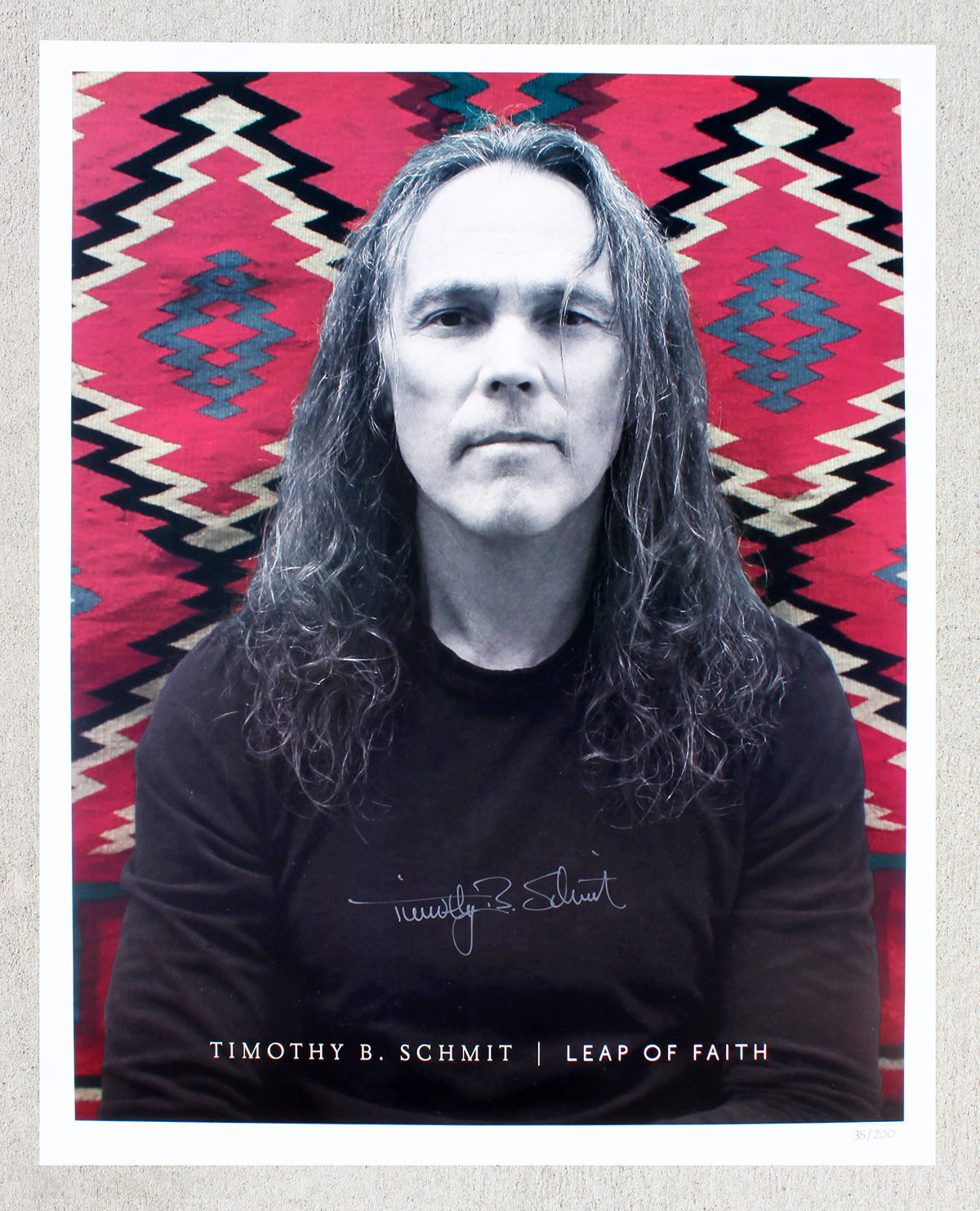 Timothy B Schmit - Tour Book - Leap of Faith #2