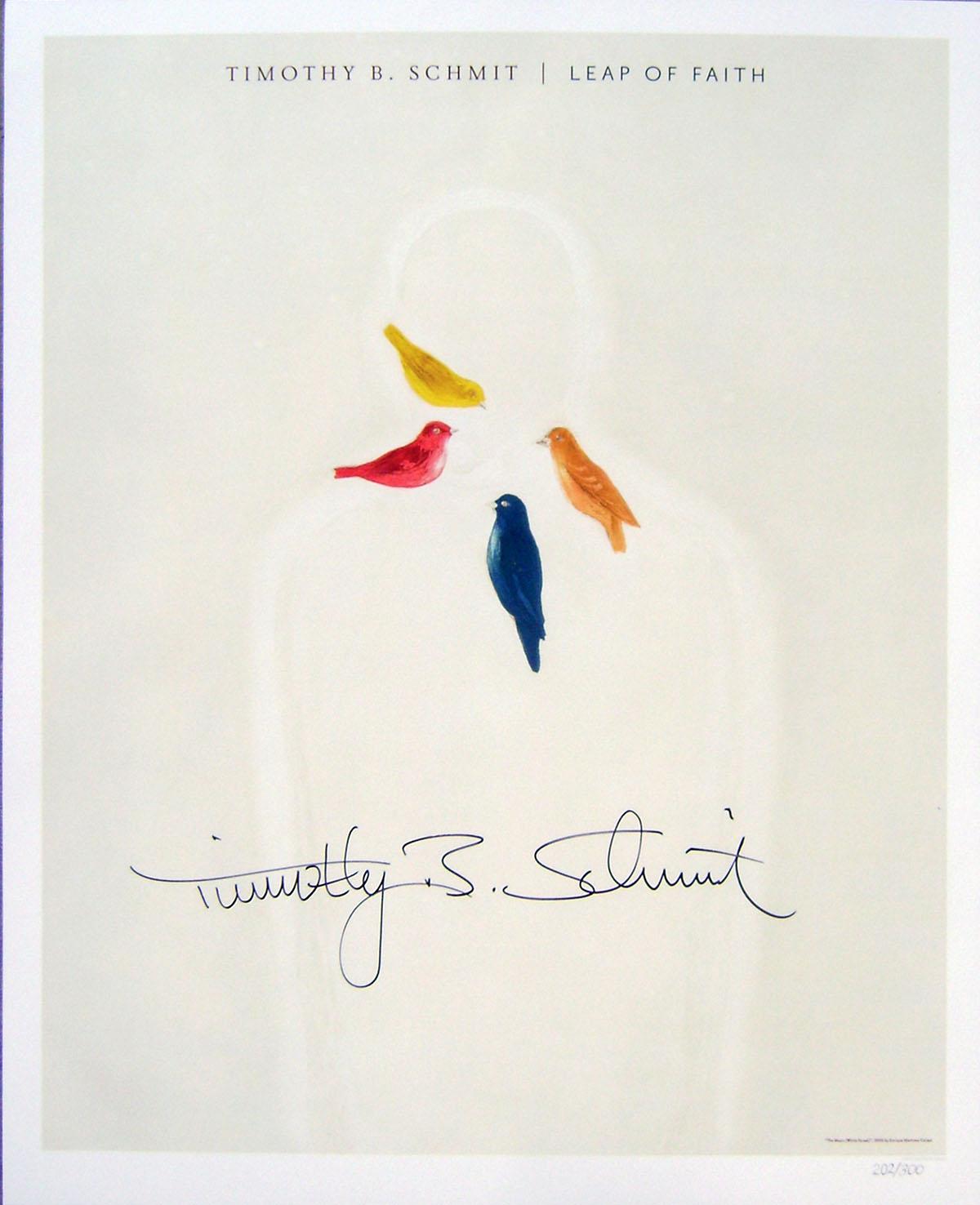 Timothy B Schmit - Poster - Leap of Faith #1