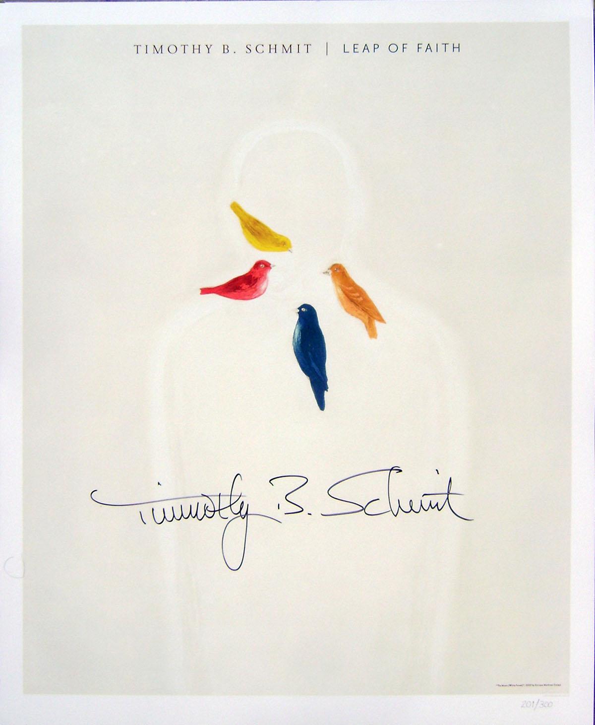 Timothy B Schmit - Poster- Leap of Faith #2