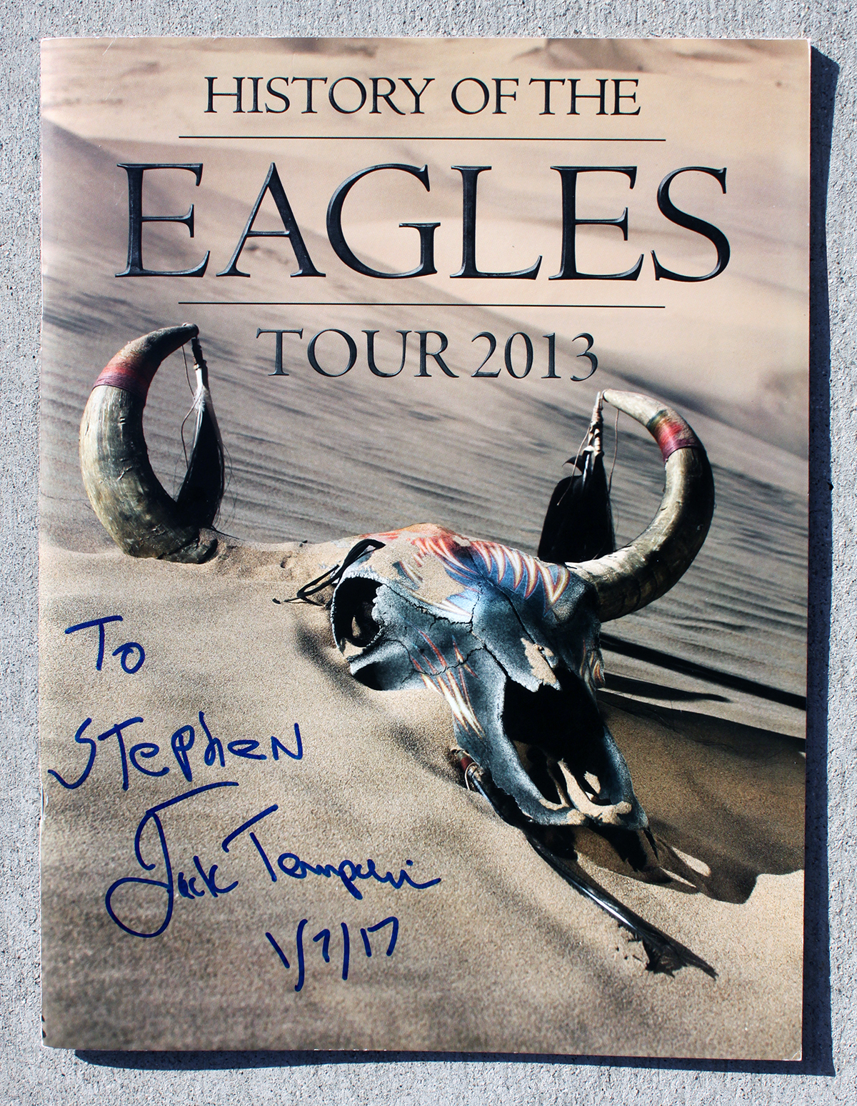 Tourbook - Eagles - Jack Tempchin