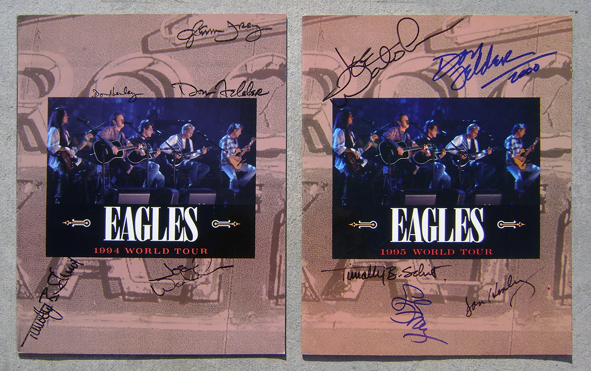 Eagles 45rpm picture sleeves