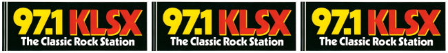 KLSX Sticker - 3-Panel