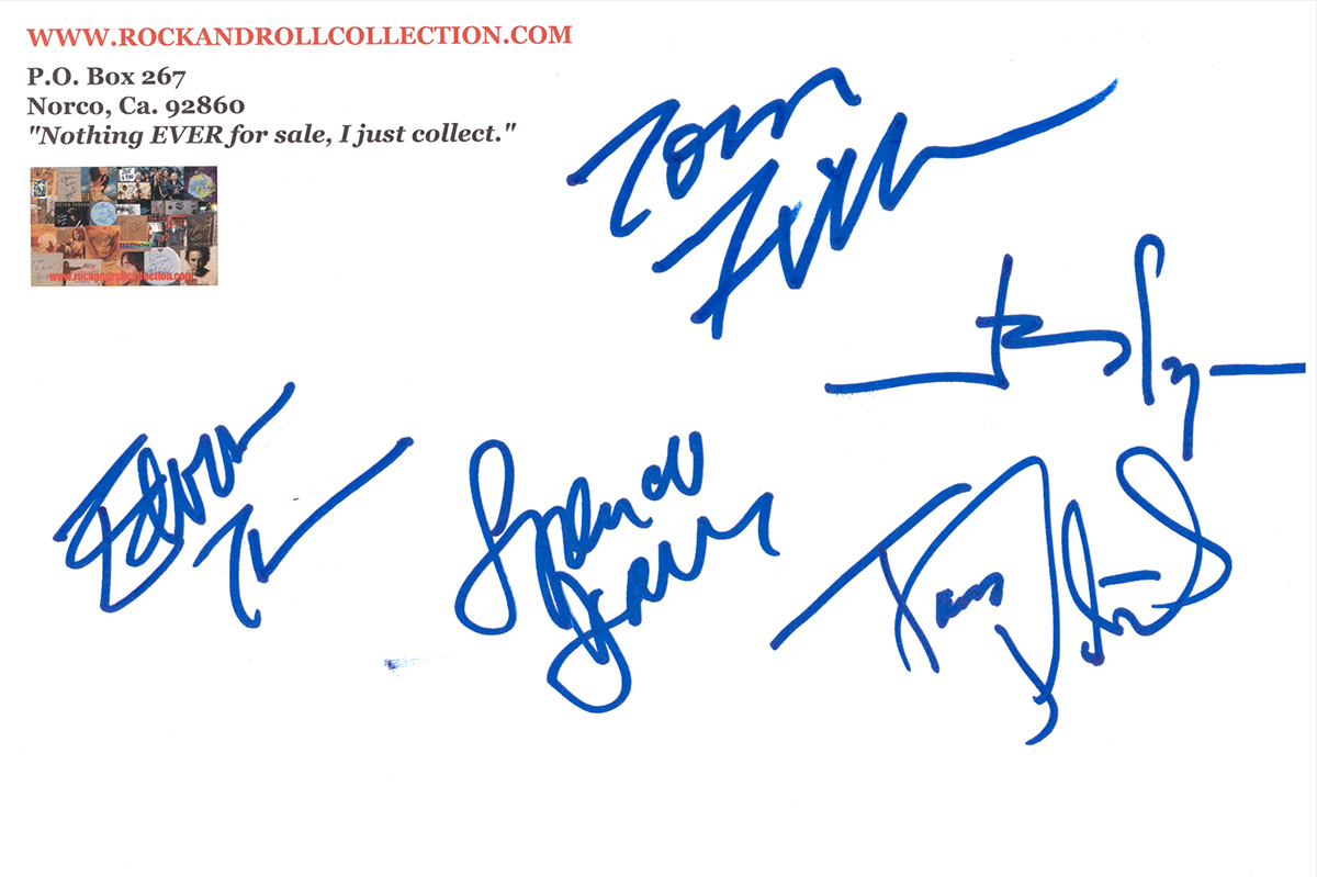 Spencer Davis Signed Envelope